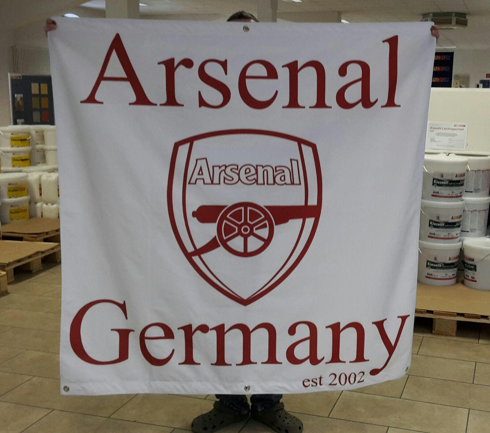 Arsenal Germany est. 2002 Flag